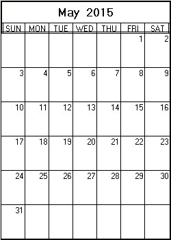 appointment calendar 2015
