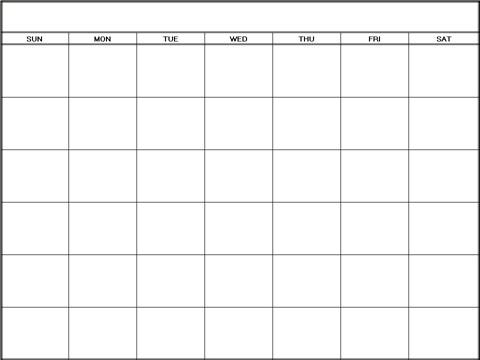 Printable Weekly Calendar | Printable Weekly Planners
